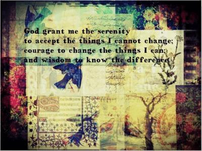 serenity, prayer, art