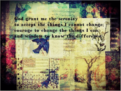 serenity, prayer, art