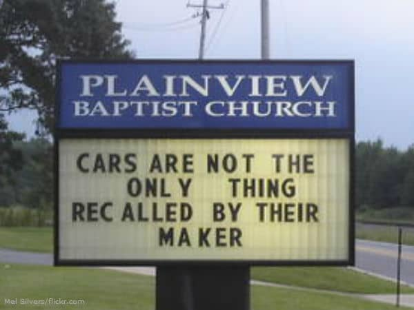 new funny signs