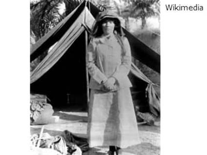 Gertrude Bell WWI