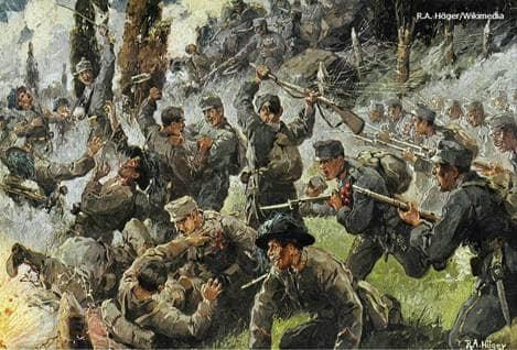 Austria-Hungarian vs. Italian WWI