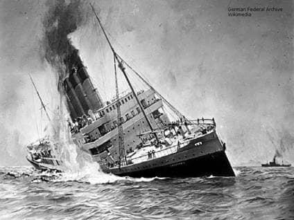 Lusitania WWI