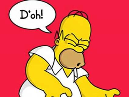 homer saying doh