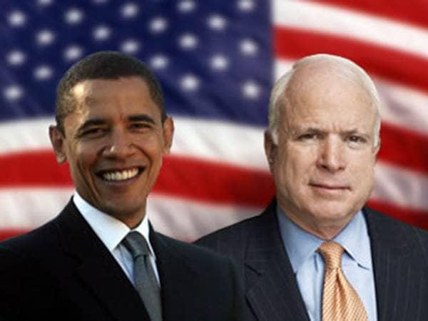 Obama and McCain