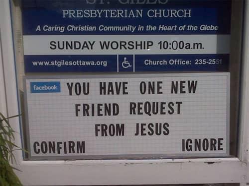 Funny Church Signs Beliefnet