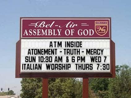 World S Best Church Signs Beliefnet