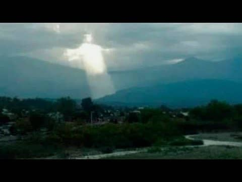 Christians Worry Image of Jesus in Clouds is Sign of Rapture