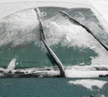 Windshield Wiper Fluid Freezing Up?