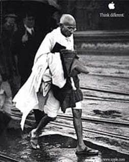 Gandhi and Apple