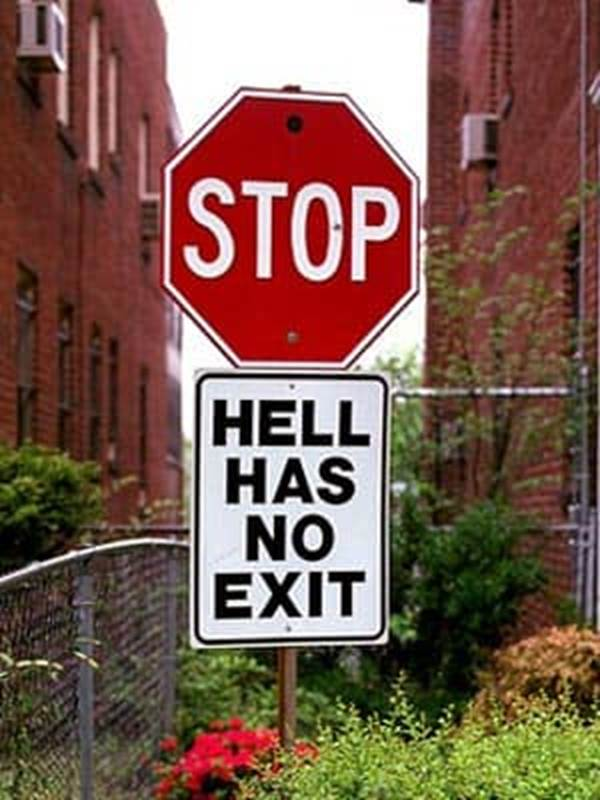 """no exit hell Characters in sartre's no exit - characters in sartre's no exit """"no exit,"""" by jean-paul sartre, is a play that illustrates three people's transitions from wanting to be alone in hell to needing the omnipresent """"other"""" constantly by their sides."""