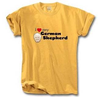 I Love My German Shepherd Pope Benedict Catholic tshirt
