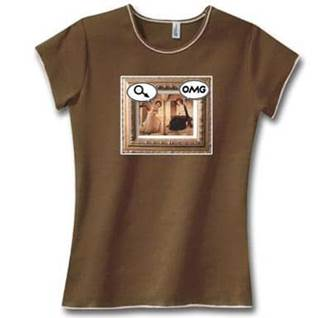 Mary OMG Catholic tshirt