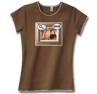 Mary OMG Catholic tshirt