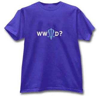 What Would Mary Do? Catholic tshirt