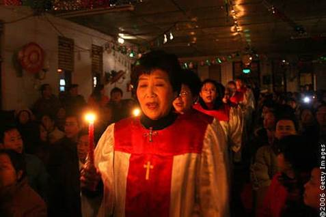 China Christmas Eve Choir