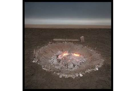 Solstice Fire Ring Ocean Beach California