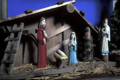 Nativity scene from China