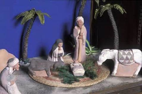Nativity scene from Egypt