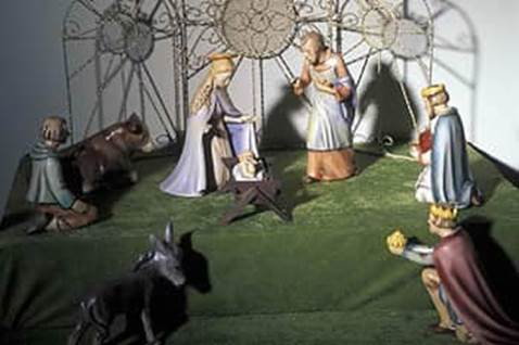 Nativity scene from Germany