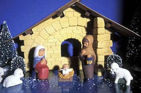 Nativity scene from Holland