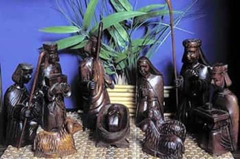 Nativity scene from Indonesia