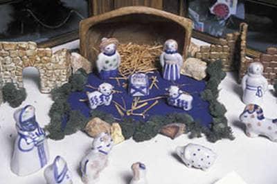 Nativity scene from Kentucky