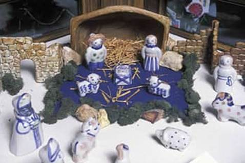 Nativity scene from Kentucky