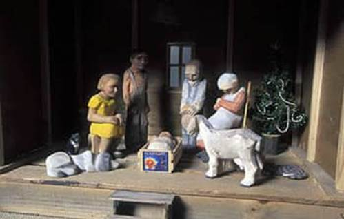 Nativity scene from Maryland