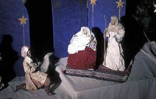 Nativity scene from Phillipines