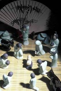 Nativity scene from Thailand