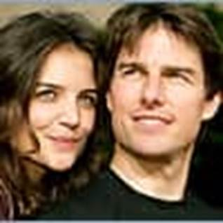 2. TOM CRUISE AND KATIE HOLMES