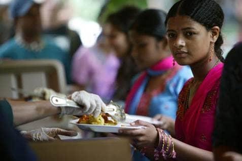Hare Krishnas Feasts