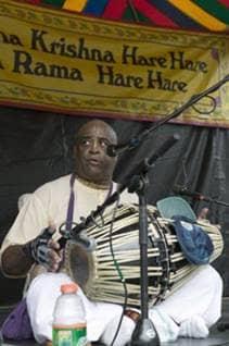 Hare Krishna musician