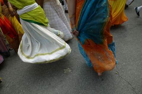 Krishna women dance