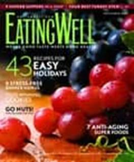 Eating Well magazine cover