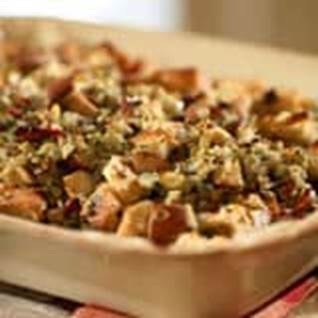 Pear Prosciutto Hazelnut Stuffing Turkey