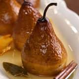 Riesling Baked Pears honey Riesling fruity white wine cinnamon