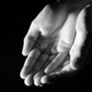 Speak to God open hands