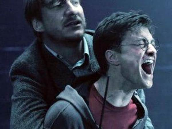 Harry Potter mourning the death of Sirius