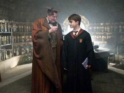 Harry Potter and Professor Slughorn