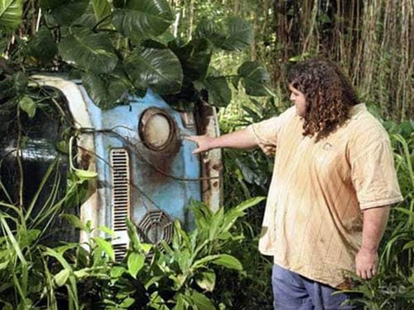 Lost Hurley Dharma van