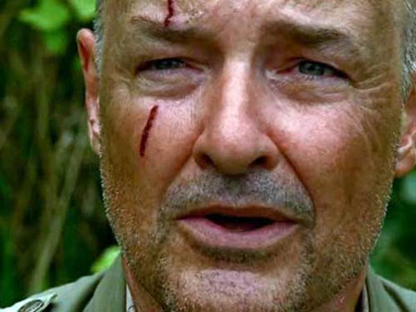 Lost John Locke sees smoke monster