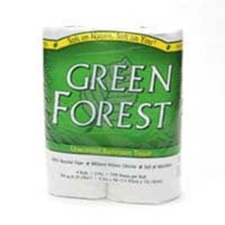 Green Forest Toilet Paper