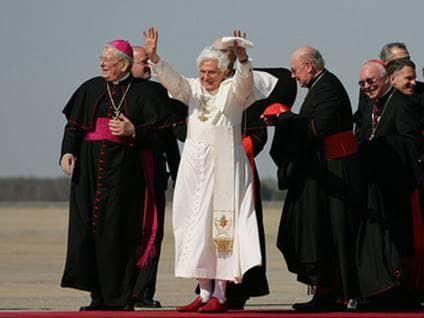 Airstrip Pope Cardinals
