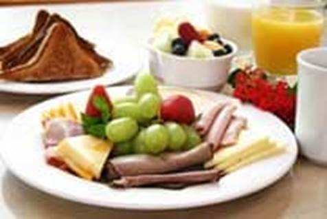 Eat Platters Full of Healthy Foods