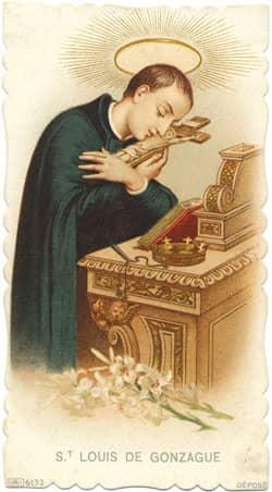 Catholic patron saint of healing the sick