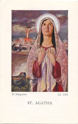 Patron saint of healing prayer