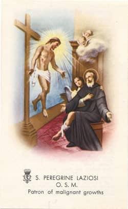 Healing saints