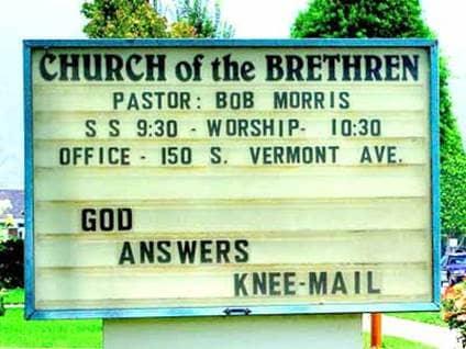 Knee-Mail