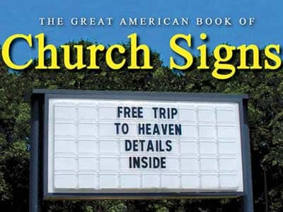 Signf of Faith - Church Signs Across America